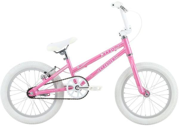 Haro Shredder 16 Girls Color: Pearl Pink