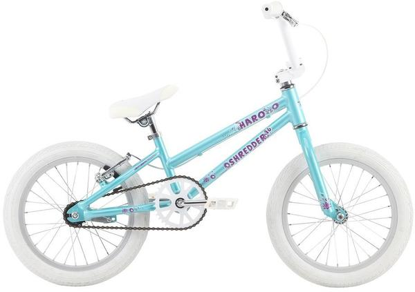 Haro Shredder 16 Girls Color: Pearl Teal