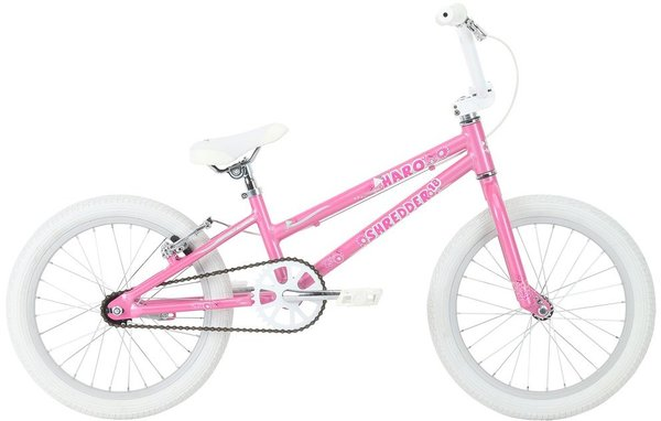 Haro Shredder 18 Girls (k12) Color: Pearl Pink