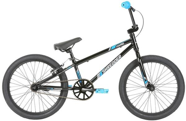 Haro Shredder 20 Color | Size: Gloss Black | 19.3-inch