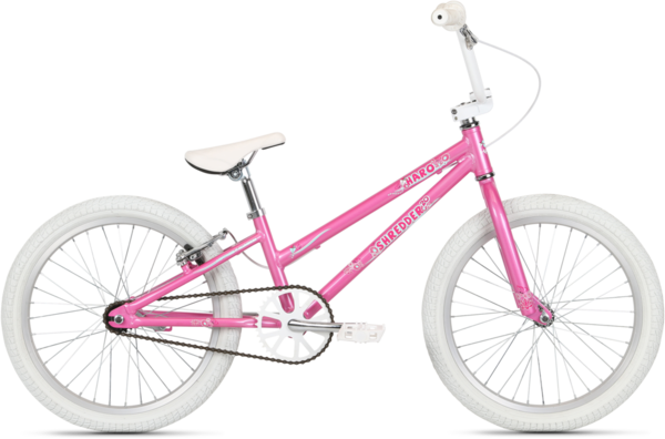 Haro Shredder 20 Girls Color: Pearl Pink