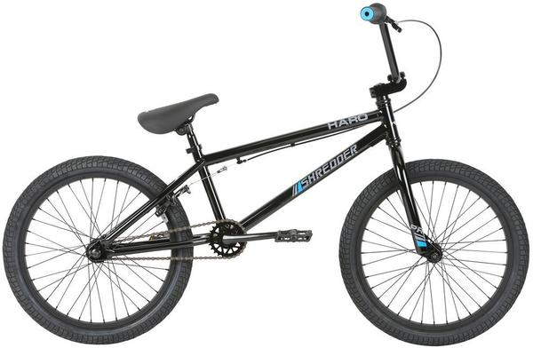 Haro Shredder Pro 20 Color | Size: Gloss Black | 20.3-inch