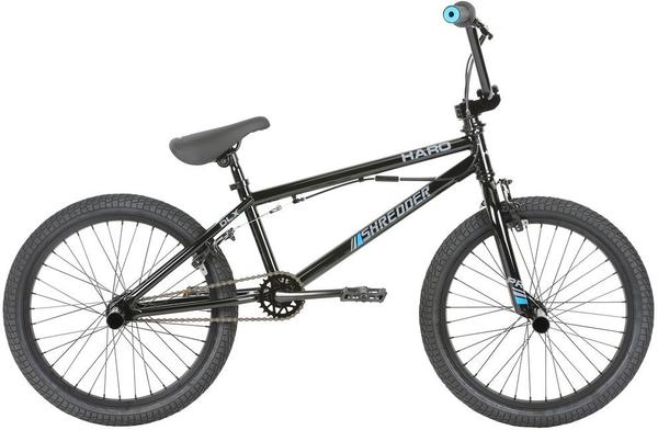 Haro Shredder Pro 20 DLX Color | Size: Gloss Black | 20.3-inch