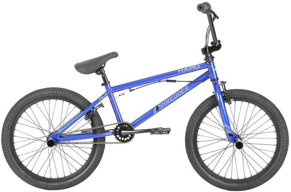 Haro Shredder Pro 20 DLX Color | Size: Metallic Blue | 20.3-inch