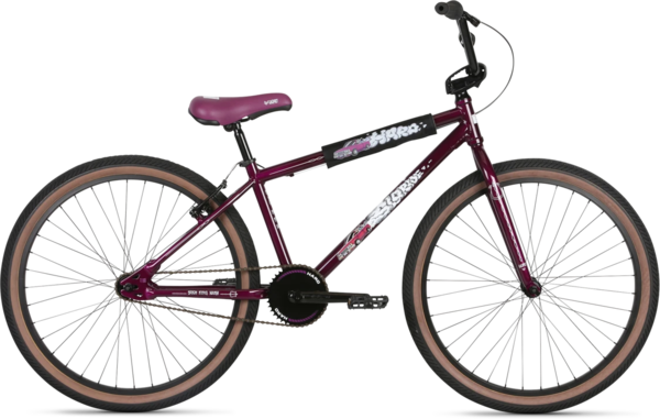 Haro Slo-Ride 26 Color: Purple