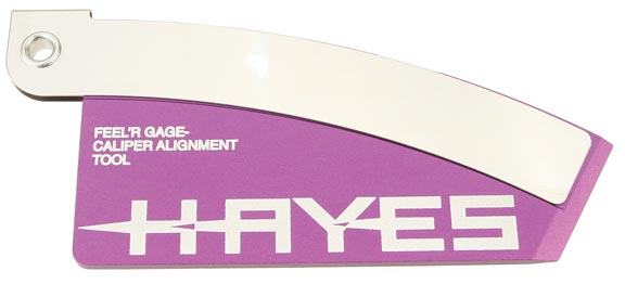 Hayes Brake Pad and Rotor Alignment Tool