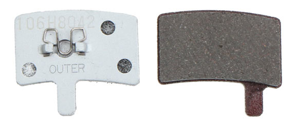 Hayes Disc Brake Pads Model | Type: Stroker Gram/Carbon/Trail | alloy semi metallic
