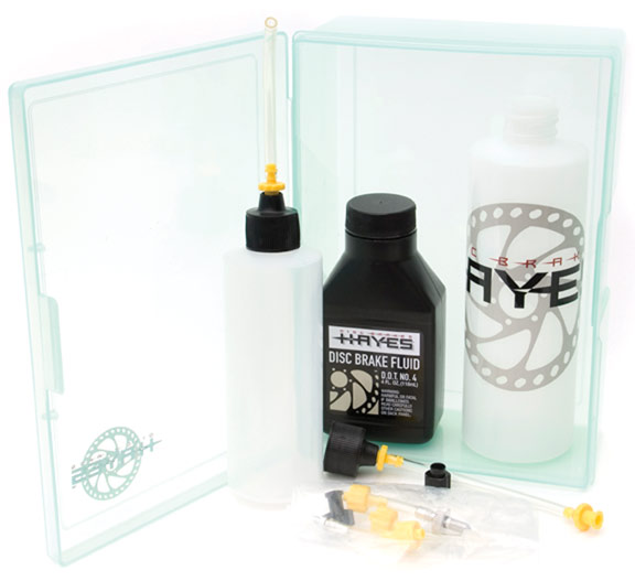 Hayes Bleed Kit Model: D.O.T. Brake Fluid Dual Syringe Pro Bleed Kit