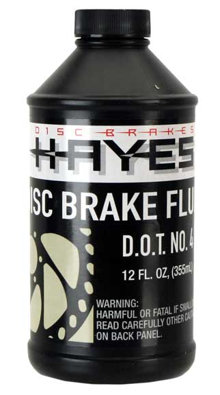 Hayes DOT-4 Brake Fluid Size: 12oz bottle
