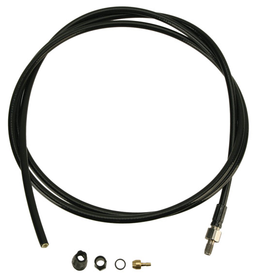 Hayes Hydraulic Tubing Kits Color | Model | Size | Type: Black | HFX-9 | 1600mm | Tubing Kit-Inline