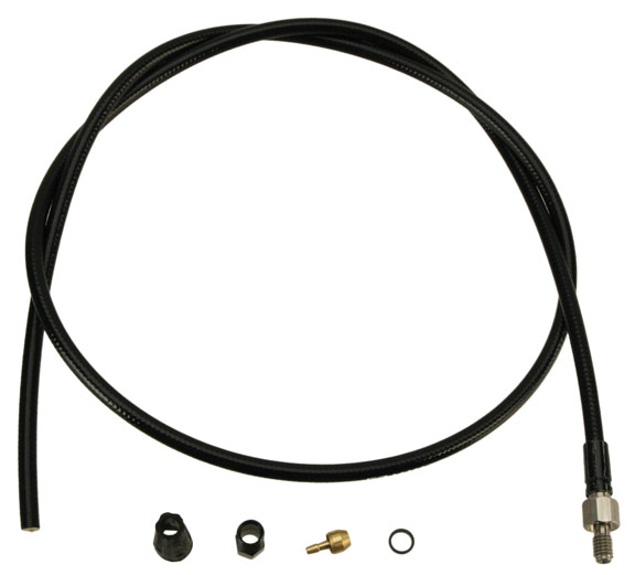 Hayes Hydraulic Tubing Kits Color | Model | Size | Type: Black | HFX-9 | 900mm | Tubing Kit-Inline