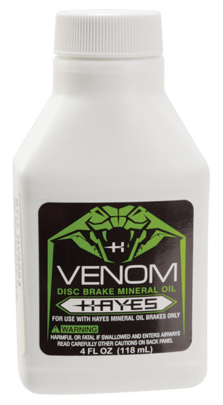 Hayes Venom Mineral Oil Brake Fluid Size: 4oz