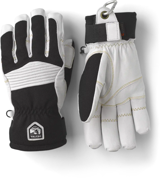 Hestra Gloves Army Leather Couloir 5 Finger