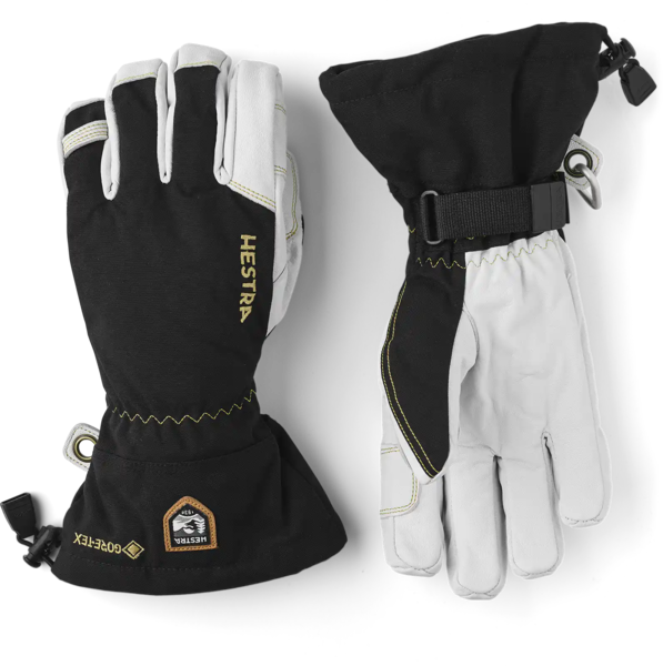 Hestra Gloves Army Leather GORE-TEX 5 Finger