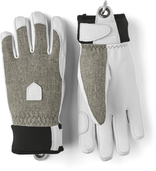 Hestra Gloves Army Leather Patrol Female 5 Finger