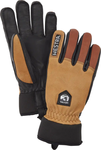 Hestra Gloves Army Leather Wool Terry 5 Finger