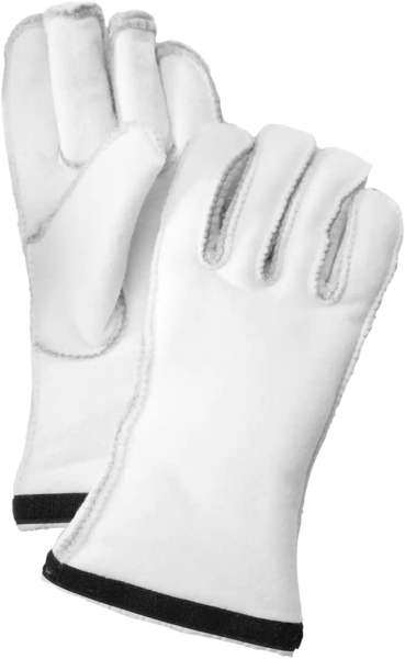 Hestra Gloves Heli Ski Liner 5 Finger Color: Offwhite