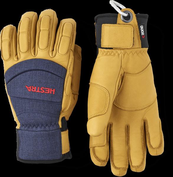 Hestra Gloves Vertical Cut CZone 5 Finger