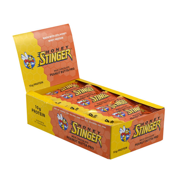Honey Stinger 10g Protein Bar Flavor: Peanut Butta