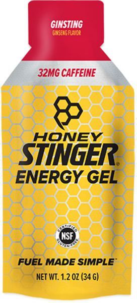 Honey Stinger Caffeinated Energy Gel Flavor | Size: Caffeinated Ginsting | Single Serving