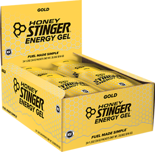 Honey Stinger Classic Energy Gel Flavor | Size: Gold | Single Serving 24-pack