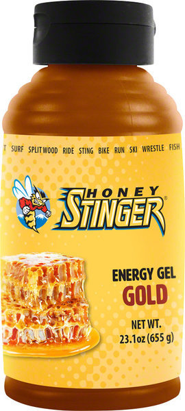 Honey Stinger Classic Energy Gel Gold 23.1-ounce Bottle Flavor: Gold