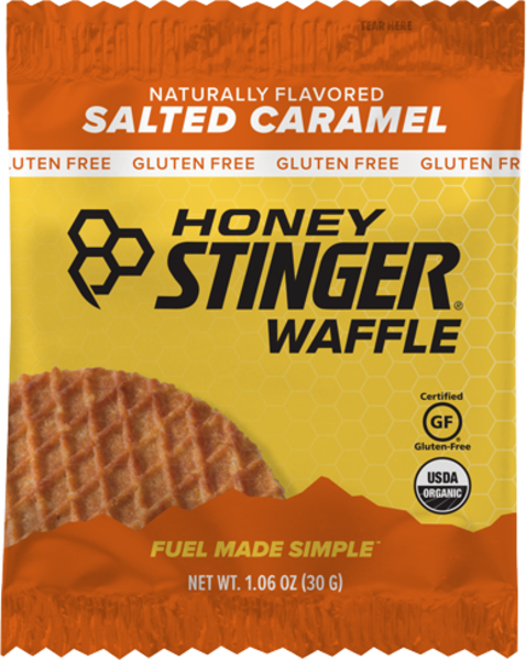 Honey Stinger Gluten Free Organic Waffle Flavor | Size: Salted Caramel | Single Serving