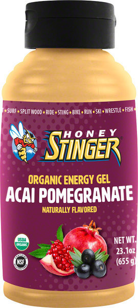 Honey Stinger Organic Energy Gel 23.1-ounce Bottle Flavor: Acai/Pomegranate