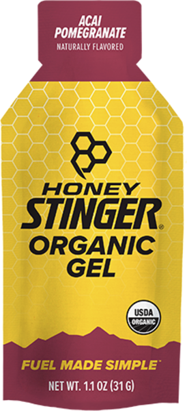 Honey Stinger Organic Energy Gel Flavor | Size: Acai Pomegranate | Single Serving