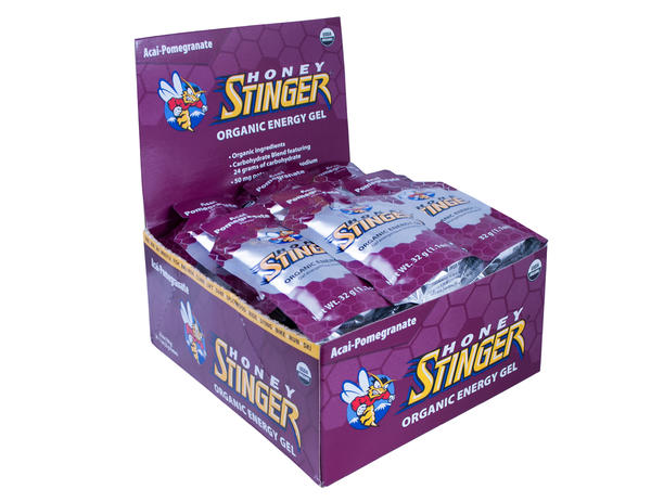 Honey Stinger Organic Energy Gel Flavor | Size: Acai and Pomegranate | 24-pack