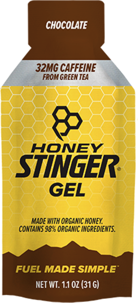 Honey Stinger Caffeinated Energy Gel Flavor | Size: Caffeinated Chocolate | Single Serving