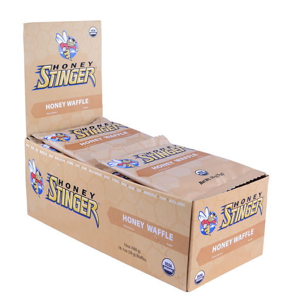 Honey Stinger Organic Stinger Waffle Flavor | Size: Honey | 16-pack
