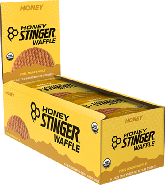 Honey Stinger Organic Waffle Flavor | Size: Honey | Single Serving 16-pack