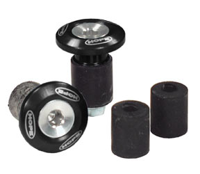 Hope Grip Doctor Bar End Plugs Color: Black