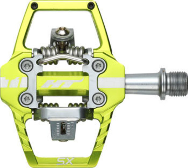 HT Pedals T1-SX BMX-SX Pedals Color: Apple Green