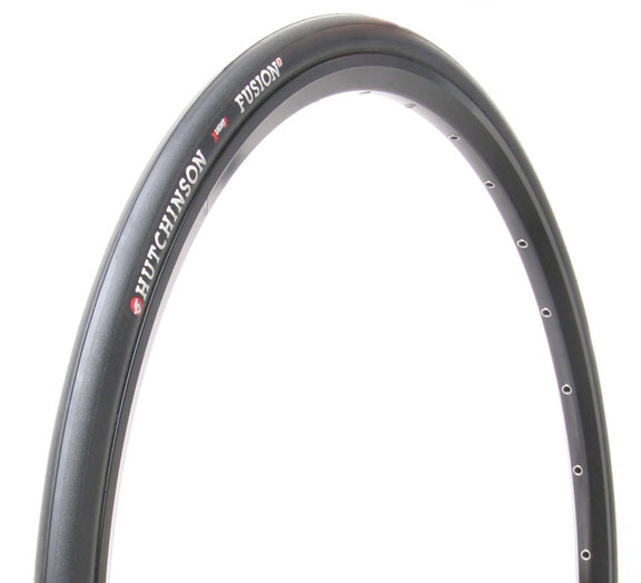 Hutchinson Fusion3 Tubeless 700c Tire Color: Black
