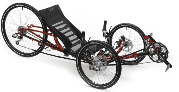 Ice Trikes Sprint 26 Color: Fire Red