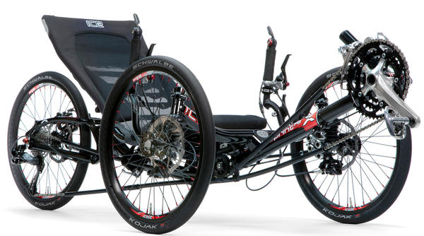 Ice Trikes Sprint X 20 Suspension Options shown. Price listed is for trike as defined in Specifications (image may differ).