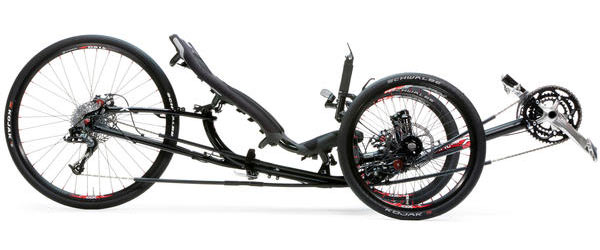 Ice Trikes Sprint X 26 Color: Ink Black