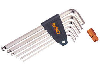IceToolz Hex Key Wrench Set