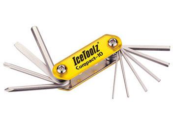 """IceToolz Multi Tool Set """"Compact-10"""""""