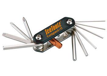 """IceToolz Multi Tool Set """"Compact-11"""""""