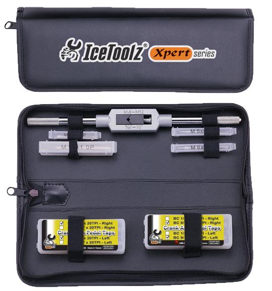 IceToolz Thread Tap Set