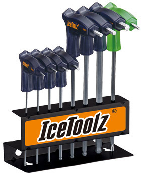 IceToolz Twinhead Wrench Set