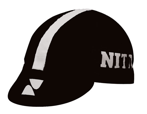 IDG Nitto Cycling Cap Color: Black/Ivory