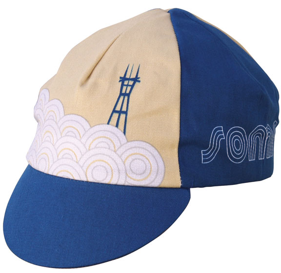 IDG Soma Sutro Cycling Cap Color: Navy Blue