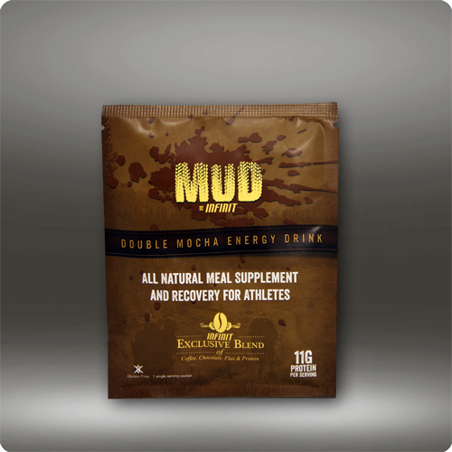 Infinit Nutrition MUD Double Mocha Meal Supplement Flavor | Size: Mocha | Single Serving