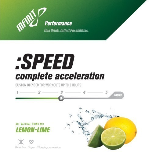 Infinit Nutrition :SPEED Flavor | Size: Lemon Lime | Single Serving