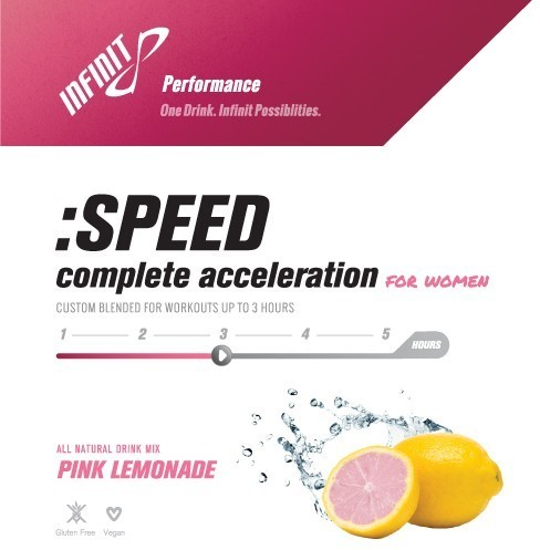 Infinit Nutrition :SPEED For Women Flavor: Pink Lemonade