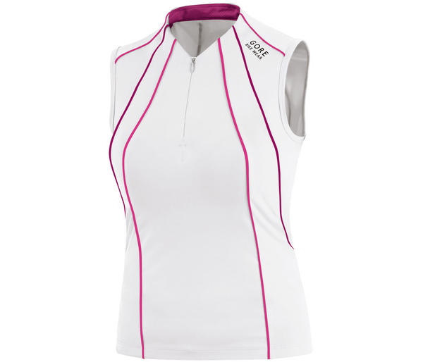 Gore Wear Phantom Summer Lady Singlet Color: White/Fuchsia